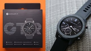 Amazfit GTR 42mm Detailed Review After 7 Days!