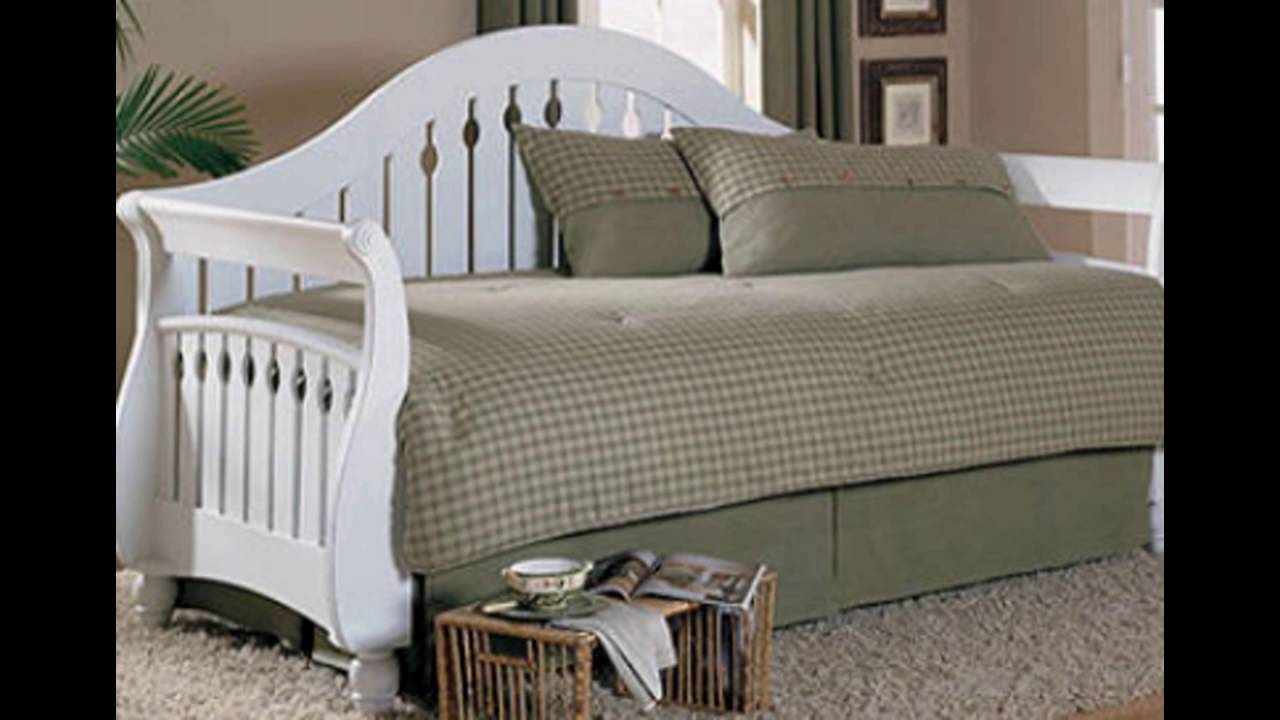 buy popular cf3ac a6390 white wooden daybeds with trundle