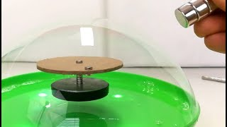 Floating Free Energy Motor in a Bubble | Magnetic Games