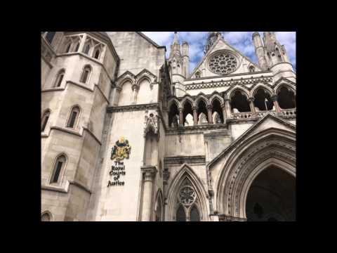 The Royal Courts of Justice In London - Knock And The Door Will Be Opened To You
