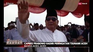 Prabowo Subianto Hadiri Peringatan 14 Tahun Tsunami Aceh - Pemilu Rakyat 26/12