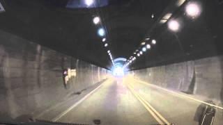 辛香隊道(からこたいどう) トンネル 岡山県岡山市 20150802 tunnel