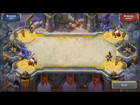 Castle Clash-Squad Showdown CRAZY TEAM! (not My Idea)