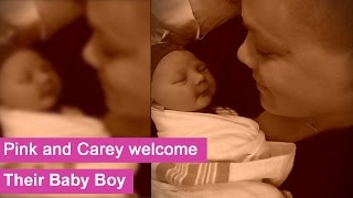 Singer Pink and Carey Hart welcome their baby boy - Jameson Moon Hart