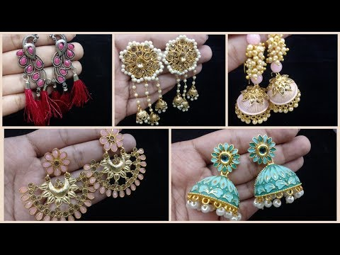 Artificial Designer Earrings Collections |Beautiful Earring Designs for Wholesale & Retail