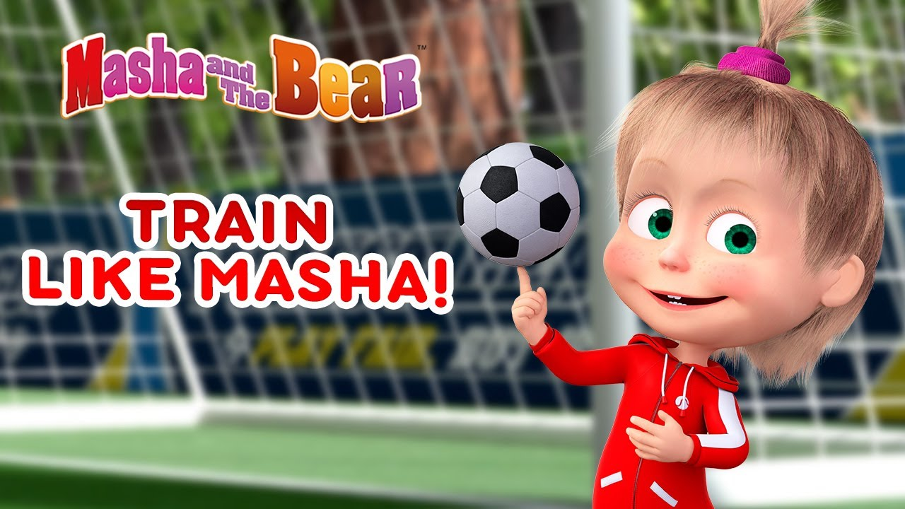 Masha and the Bear 👱♀️🏋️ TRAIN LIKE MASHA! ⚽🏅 Best football episodes collection 🎬