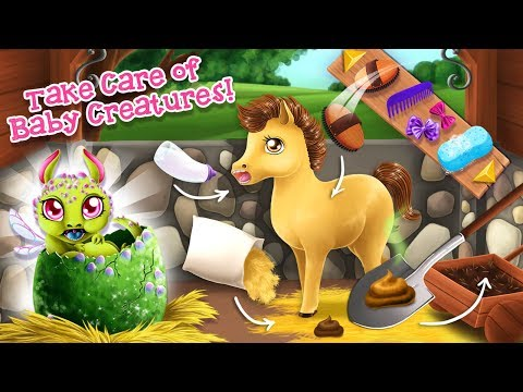 Baby Horse & Tiny Dragon Daycare | Princess Horse Club 3 | TutoTOONS Cartoons & Games for Kids