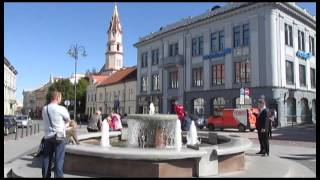 Walking Tour In The Old Town Of Vilnius, Capital Of Lithuania