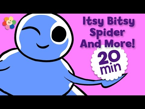 Nursery Rhymes for Kids |  Itsy Bitsy Spider, Old MacDonald, & other Rhymes for Children | BabyFirst