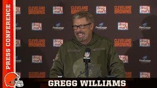 Gregg Williams Postgame Press Conferenc...