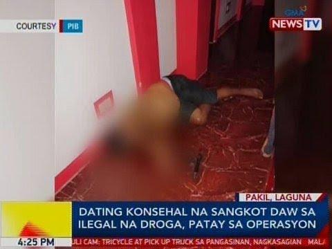 BP: Dating Konsehal Na Sangkot Daw Sa Ilegal Na Droga, Patay Sa Operasyon Sa Pakil, Laguna