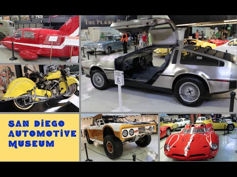 San Diego Automotive Museum - review by Posh Journal