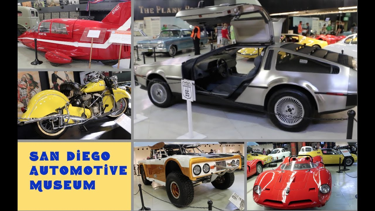 San Diego Automotive Museum - review by Posh Journal - YouTube