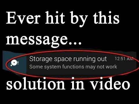 Storage Space Running Out. Here Is The Solution.