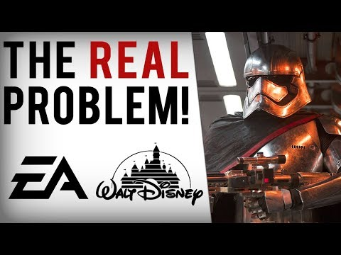 Download Youtube: Disney Is Ruining Star Wars Games...