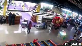 Видео начало Пожара в ТЦ Зимняя Вишня г.Кемерово 25.03.2018