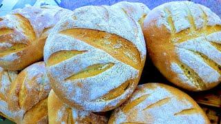 Один день пекарни. Хлеб и пироги. II часть