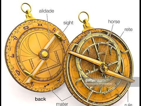 Astrolabe review, many photos, navigation, some occult/flat earth use.