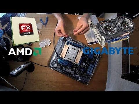 AMD FX-6300 + Geforce GTX 750 Ti PC Build