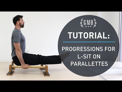 L-Sit Tutorial: Progression for a Perfect L-Sit on Parallettes