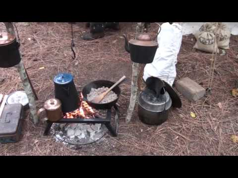 Champoeg Living History: Fur Trappers Encampment (2016)