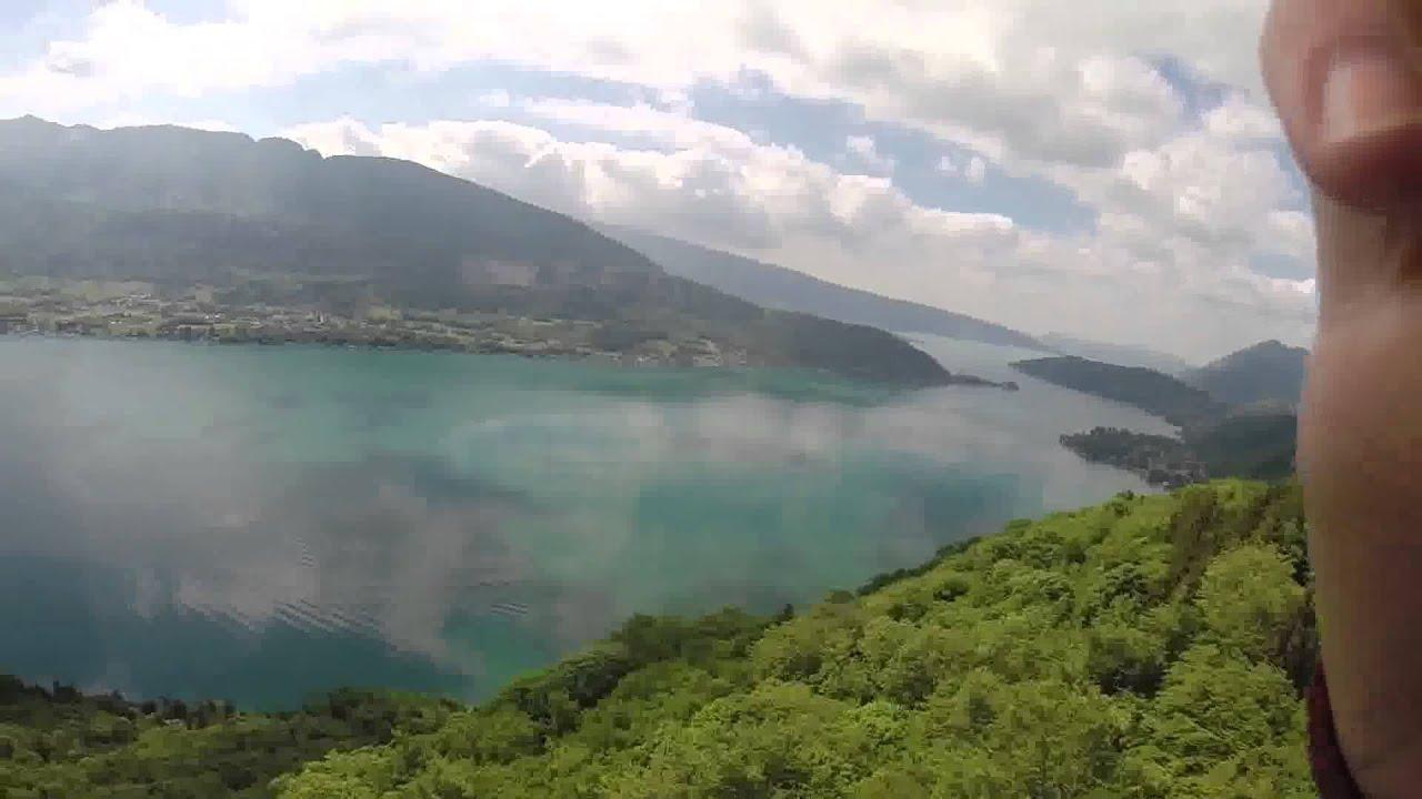 Vol découverte en parapente à Annecy - YouTube