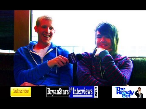 The Ready Set Interview #2 Jordan Witzigreuter UNCUT 2012