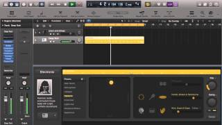 Logic Pro X 10.1(Logic X1): Creating a Click Track Using the New Electronic Drummer!