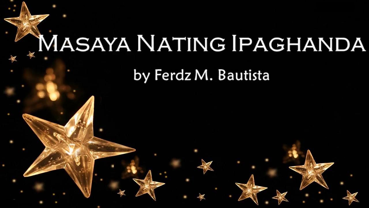 Masaya nating ipaghanda ang pagdating ng manunubos in english