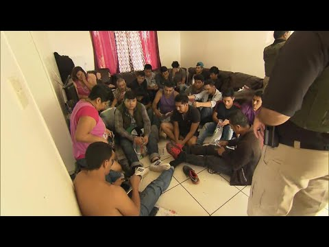 Inside a raid on Texas home with 62 undocumented immigrants