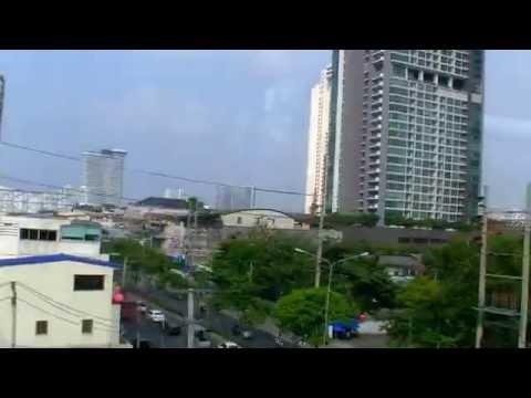 2017 曼谷自由行 - 曼谷空鐵 BTS Silom 線來回轉一圈 ( National Stadium ~ Krung Thonburi )