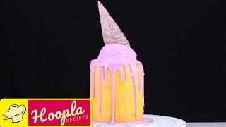 Unicorn Drip Cake Decorating Idea And Other Yummy Dessert Recipes!   Hoopla Recipes