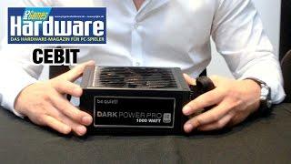 Cebit 2015: Dark Power Pro 11 - Be Quiet Netzteil-Flaggschiff vorgeführt