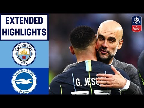 Jesus Heads City Into the Final! | Manchester City 1-0 Brighton & Hove Albion | Emirates Cup 18/19