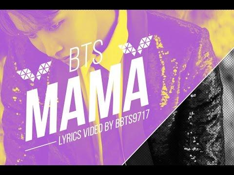 BTS (J-Hope) - MAMA Lyrics [KOR/ENG]