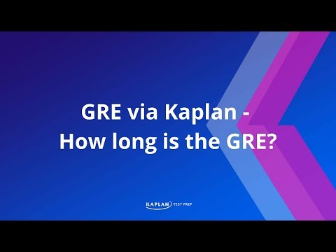 When should I take the GRE?
