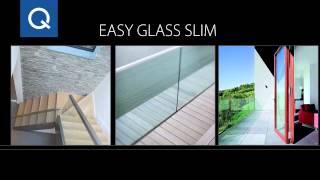 Ограждения балконов EASY GLASS (Q-Railing)(Стеклянные ограждения для балкона, лестницы и террас: изготовление и монтаж. http://stekloman.ru/, 2015-01-08T12:27:44.000Z)
