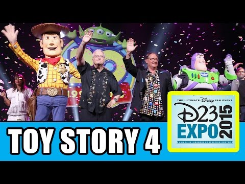 D23 Expo Toy Story 4 & Toy Story 20th Anniversary Panel Highlights - John Lasseter, Randy Newman