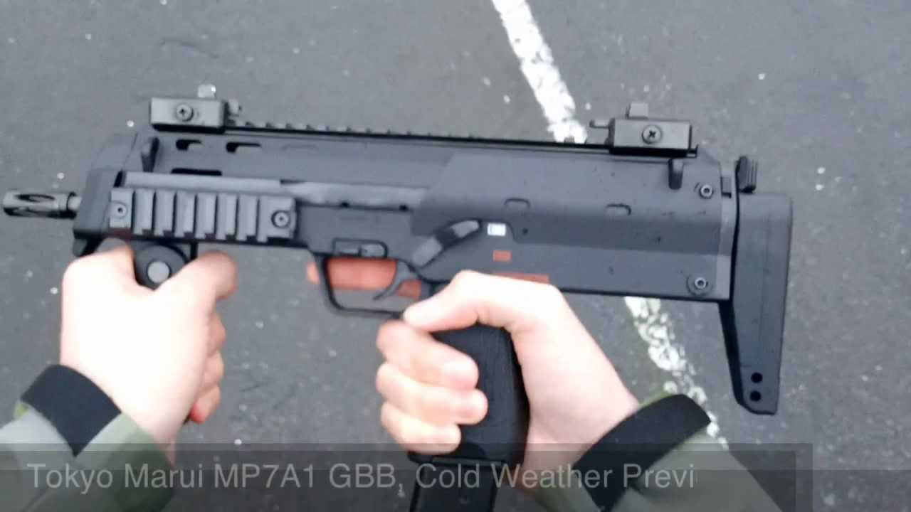 Airsoft: Marui MP7 A1 GBB Cold Weather