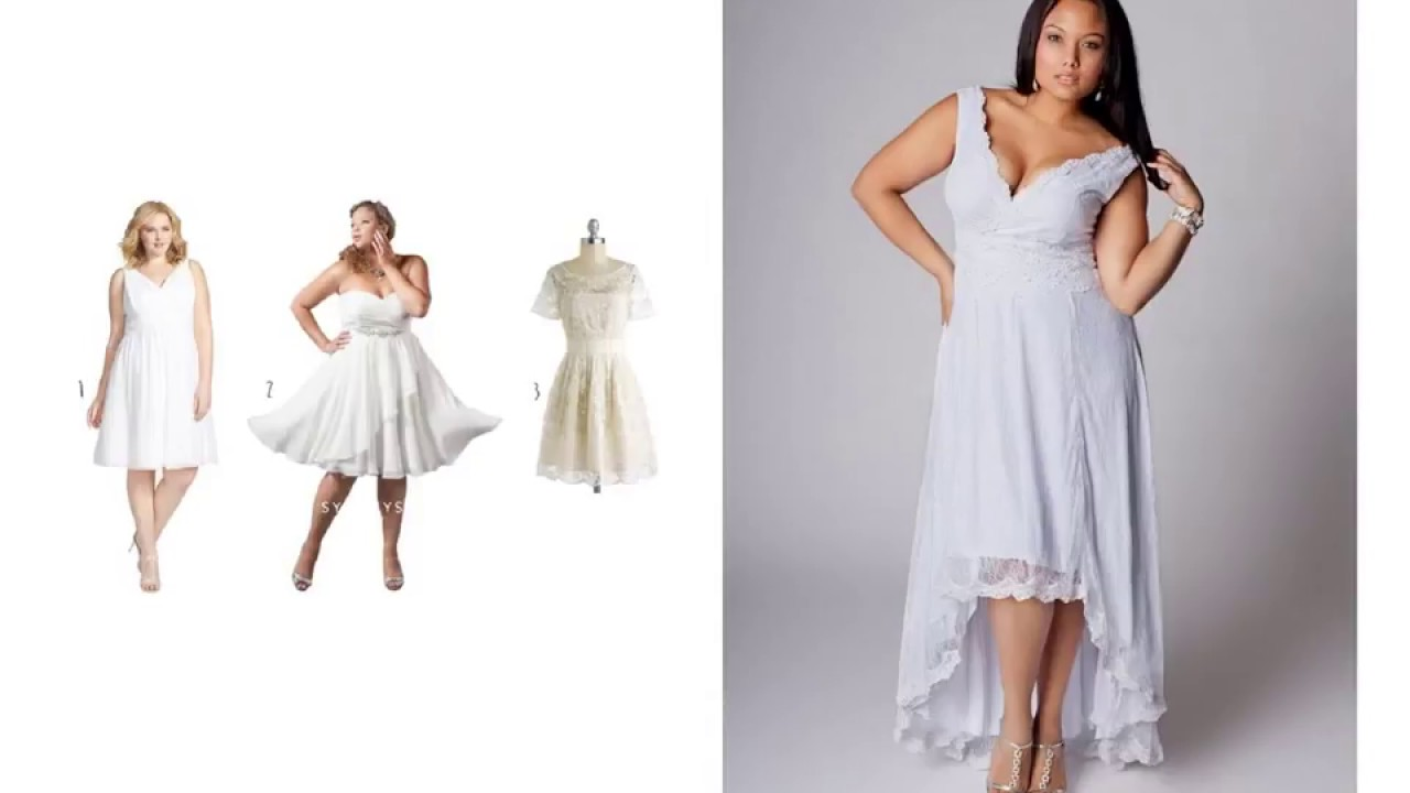 Wedding Reception Dresses Plus Size - YouTube