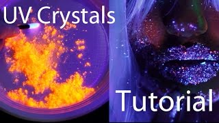 How to make UV glow in the dark crystal 'glitter ' Mp3