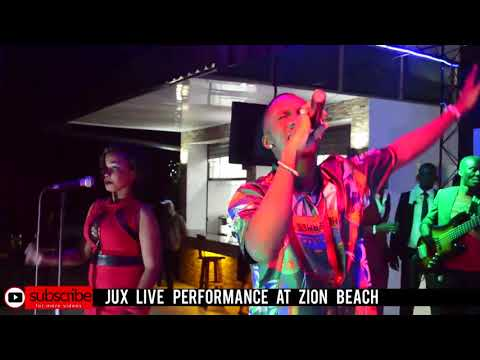 JUX LIVE FULL PERFORMANCE IN BUJUMBURA AT ZION BEACH 2/14/18