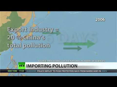 China exports air pollution to the US