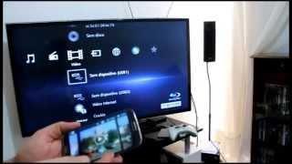 TV + Smartphones (Android) usando DLNA