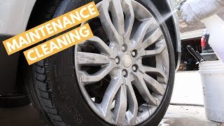 How To Perform MAINTENANCE Cleaning on Range Rover Sport - Car Wash & Interior Cleaning Tips