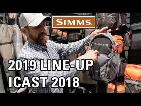 Simms 2019 Line Up Filmed At ICAST 2018
