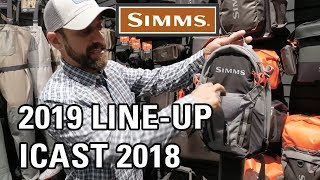Simms 2019 line up filmed at ICAST 2018