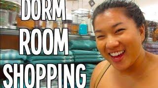 Dorm Room Shopping!