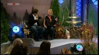 Michaela Hepp Weltmeisterin auf dem Akkordeon  und Malte Arkona  (Auf dem Federsee Nachts um halb eins)  Nov. 2008 .mpg