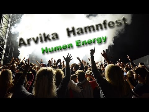Arvika Hamnfest- The happiest crowd in Scandinavia! Music video: Humen Energy/ Erik Zethelius